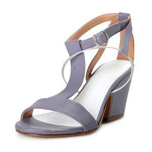 Maison Margiela 22 Women's Purple Leather Sandals